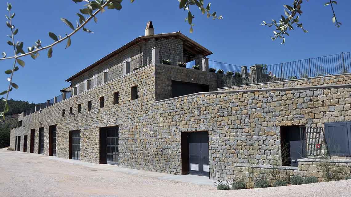 Bellafonte Winery Exterior