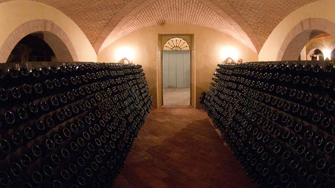 Ferghettine Riddling Cellar