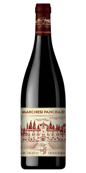 "Marchesi Pancrazi Pinot Noir Riserva Toscana ""Vigna Baragazza"" IGT"
