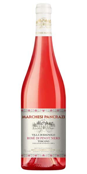 """Marchesi Pancrazi Pinot Nero Rosato """"Villa di Bagnolo"""" IGT"""
