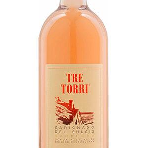 """Santadi Carignano del Sucis """"Tre Torri"""" Rosé DOC"""