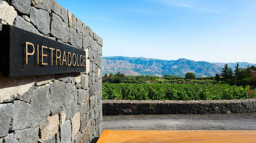 Pietradolce Winery Entrance